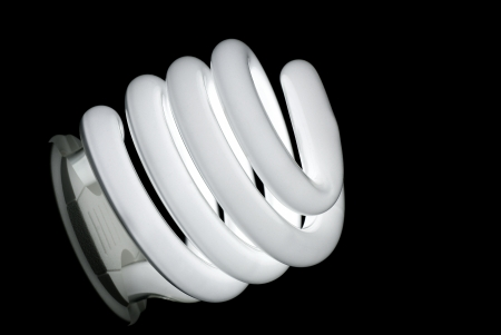 cheapness: Lit spiral energy saving lamp