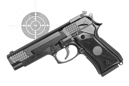 Pistol-airsoft Stok Fotoğraf - 24200770