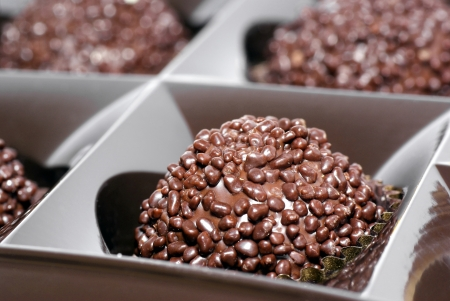 solemnize:  Chocolate bonbon