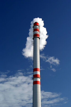 Chimney ecological  waste incinerator