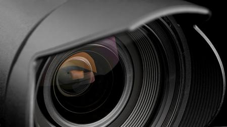 imagines: Camera lens.