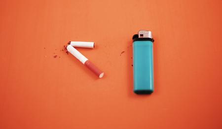 quit smoking stop Stok Fotoğraf