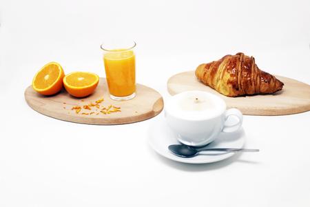breakfast table Stockfoto