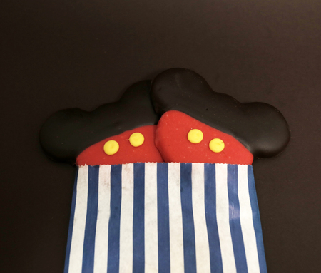 mickey mouse cookies Stock Photo