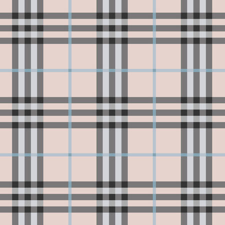 Modern and trendy seamless plaid pattern Vector