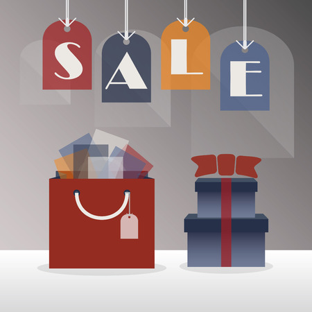 trendy tissue: SALE hanging tags - with giftbag, tissue papers, and gift boxes