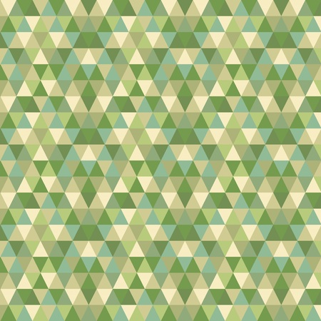 pixelate: Modern abstract shades of green and geometrical triangle pattern