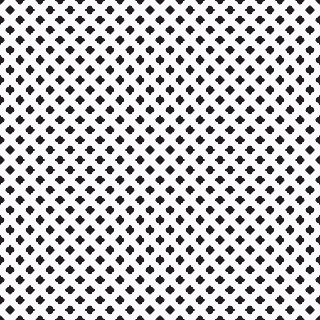 dense: Black dense curvy rhombus pattern on white background