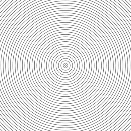diameters: Abstract parallel gray inner circles pattern on white background