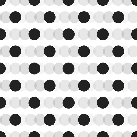 Black faded circles pattern on white background