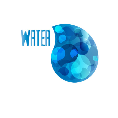 The emblem for your logos design water