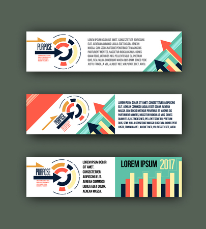 website header: abstract corporate business banner template, Colorful design header for business, background template for website design
