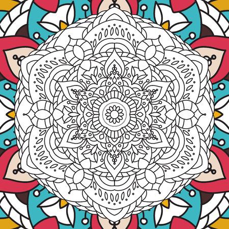 Para Imprimir La Página Para Colorear Libro Para Adultos - Diseño ...