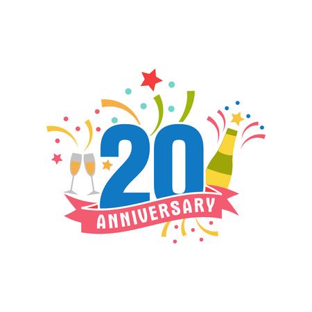 Jubileum twintig jaar nummer.