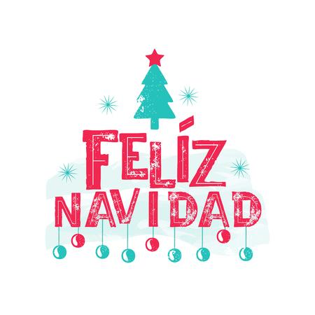 Feliz Navidad - Merry Christmas Spanish language
