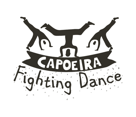 Capoeira fighting dance