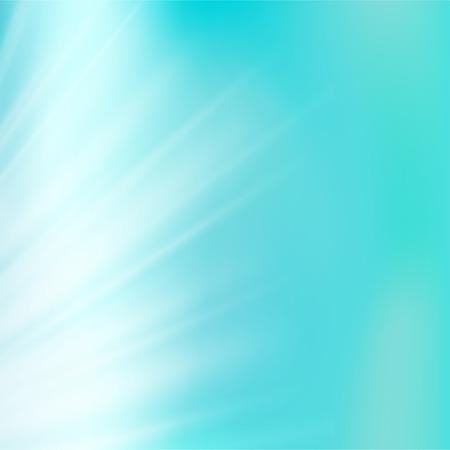 Light blue sky or water blur.