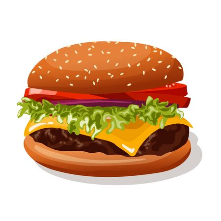sesame: burger