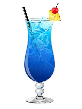 blue cocktail hawaii