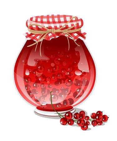 confiture: Red currant jam