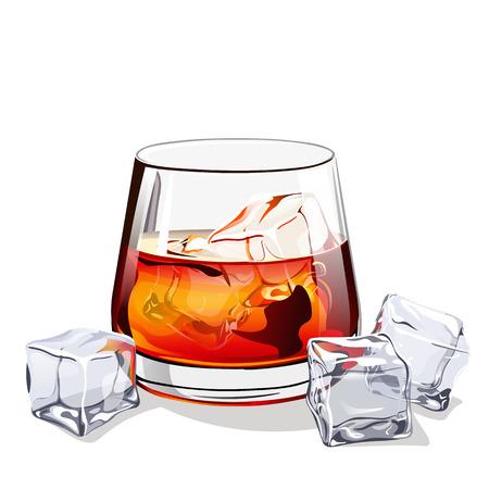 bourbon: Glass of scotch