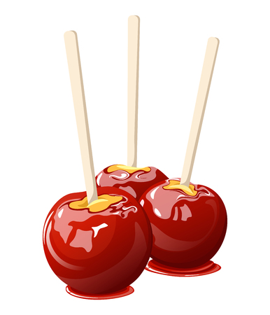 Candy Apple Halloween Sweets