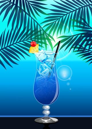 Hawaii cocktail. Standard-Bild - 111829481