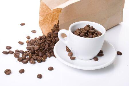 Coffee-shop stories Stock Photo