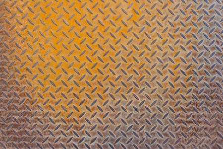 color texture of a flat rusted metal surface Stock Photo