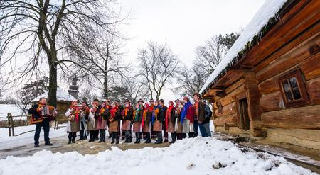 Uzhgorod, Ukraine - January 15, 2017: