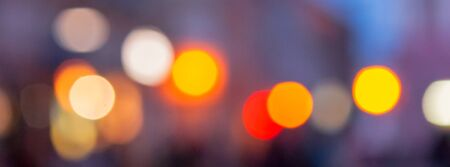 street background blur. city abstraction with bokeh effect Stock Photo - 137633064