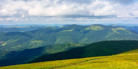 mountain landscape with clouds. beautiful summer scenery Stock Photo - 140208783