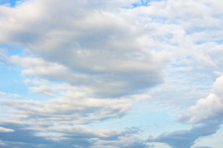 cloudy sky. beautiful nature background. changing weather concept