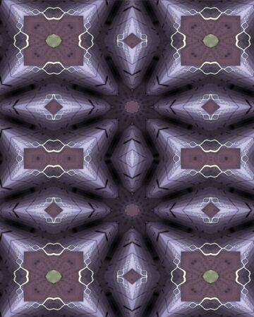 Abstract 3-D geometric wallpaper