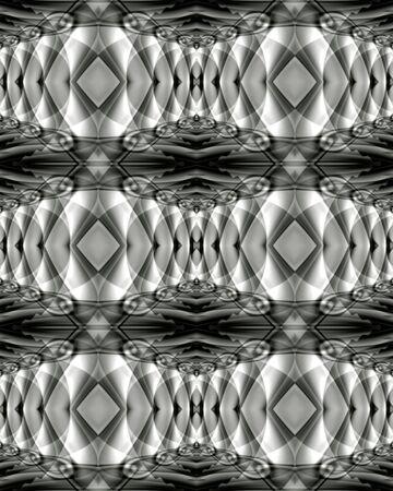Abstract fractal wallpaper with a retro design Reklamní fotografie
