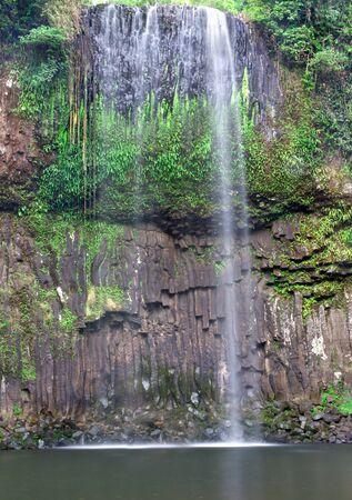 lull: Milaa Milaa Falls during a lull in the wet season