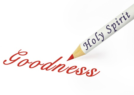 goodness: Fruit of the Spirit is goodness Stock Photo