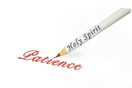 Fruit of the Spirit is patience