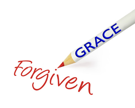 forgiven: concept of grace leading to forgiveness