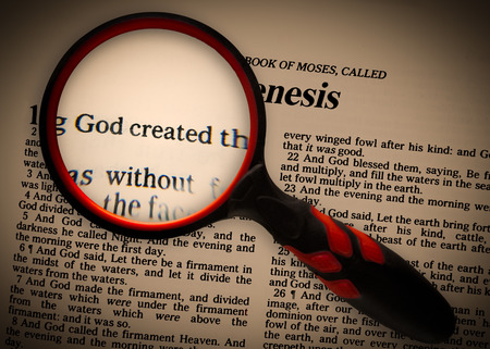 theology: a focus on Genesis 1v1, that God created.