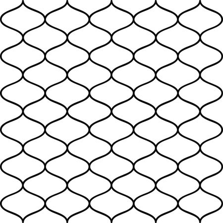 fender: Seamless fence-liked background in black and white colors Stock Photo