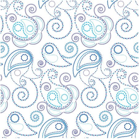 Seamless background with beautiful paisley Stock Photo - 4667464