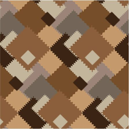 botch: Seamless pattern with different patches Stock Photo