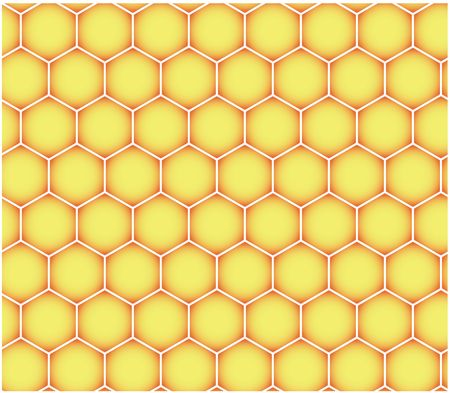 Seamless hexagonal pattern (may be used as honeycomb background)