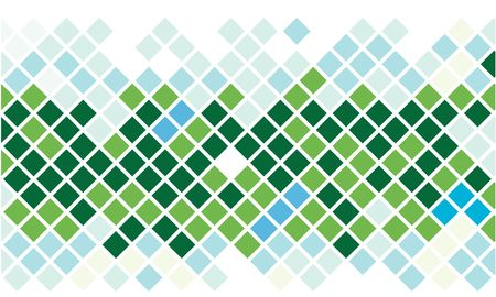 Square mosaic in natural colors Stock Photo