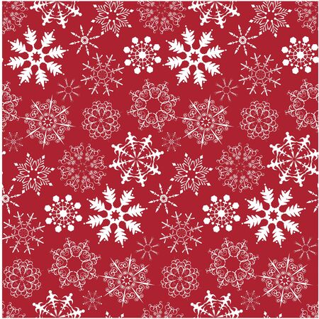 Christmas seamless background with snowflake photo
