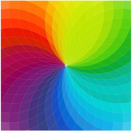Color wheel background  Stock Photo - 5194964