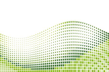 Green mosaic background Stock Photo