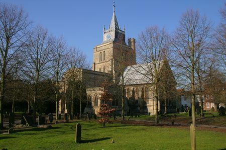 ecclesiastical: St Marys Church Aylesbury Buckinghamshire UK part of the Church of England Parish of Aylesbury in the diocese of Oxford