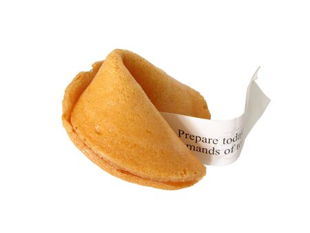 fortune cookies with its fortune photo